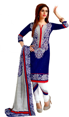Aarvi Fashions Cotton Printed Salwar Suit Dupatta Material(Unstitched)