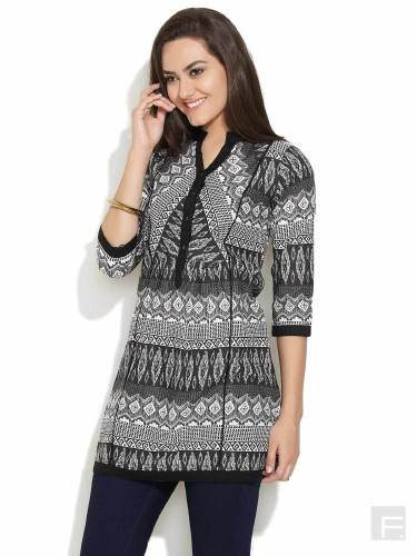 Monochrome Tribes Tunic image