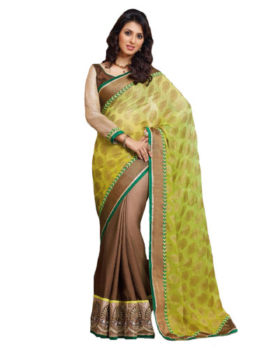 Viscose Butti Saree