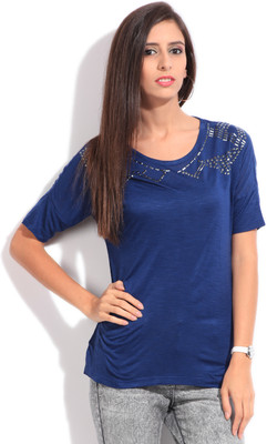 Lee Solid Women's Round Neck T-Shirt image